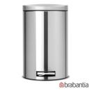 Brabantia 防指紋腳踏式垃圾桶12L-靜音