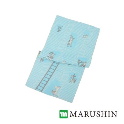 日本丸真Moomin今治三層紗臉巾/毛巾-我的家