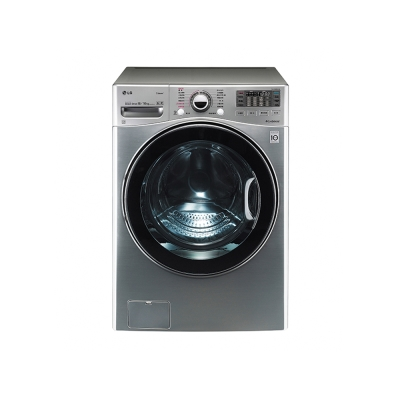 [無卡分期12期]LG WD-S18VCD (18公斤) (銀色)蒸氣洗脫烘滾筒洗衣機