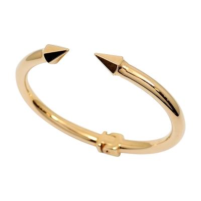 VITA FEDE義大利品牌 Titan Thea 泰坦 玫瑰金色C式粗手環手鍊