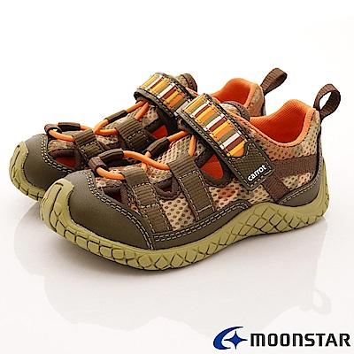 日本Carrot機能童鞋 水陸速乾鞋款 TW1793綠(中小童段)