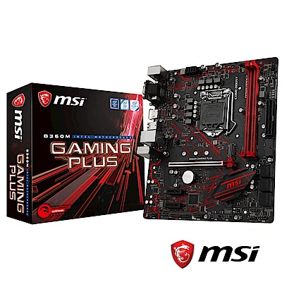 MSI微星 B360M GAMING PLUS  主機板