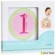 Pearhead 粉綠花朵女孩新生兒成長月份貼紙 product thumbnail 1