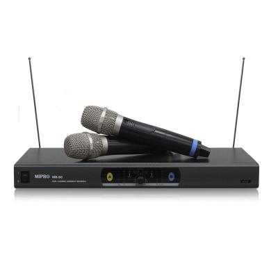MIPRO VHF 雙頻道自動選訊無線麥克風(MR-5C)