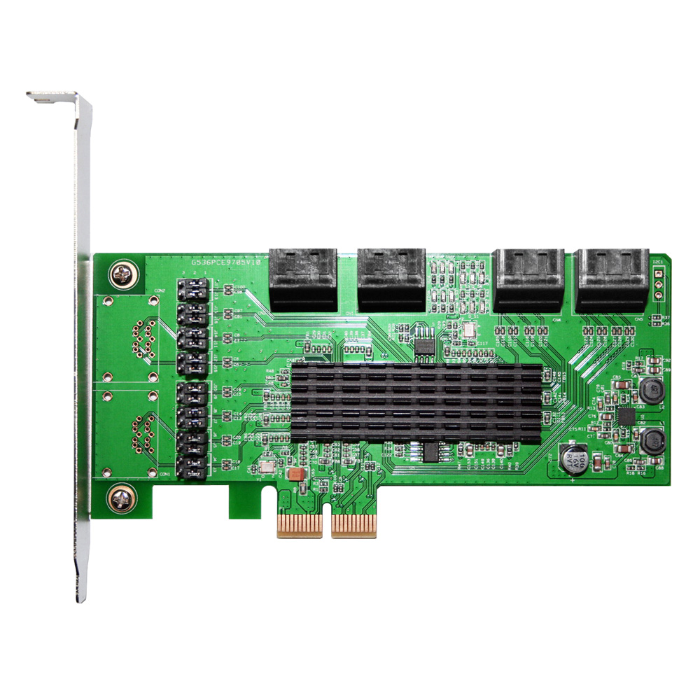 伽利略 PCI-E 2X SATAIII 8埠(PES308A)