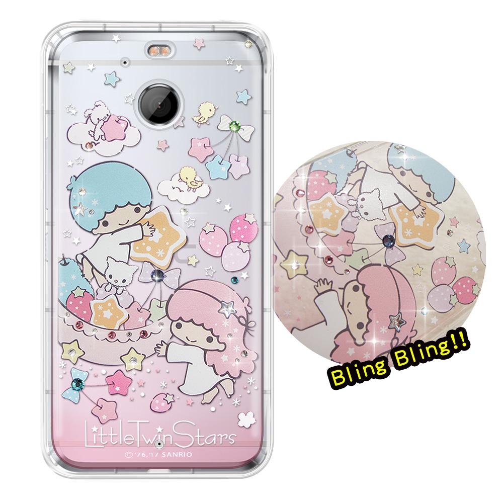 正版雙子星HTC 10 EVO 5.5吋夢幻童話彩鑽氣墊手機殼星光水果盤