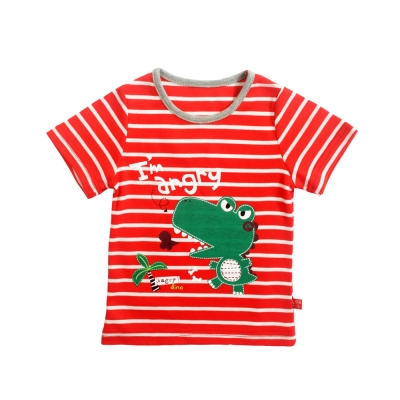 魔法Baby 台灣製兒童短袖T恤 k39856