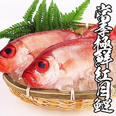 【海鮮王】當季極鮮紅目鰱 *10件組(280g±10%/2尾裝)