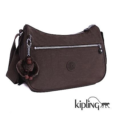 Kipling 斜背包 深紫羅蘭素面-中