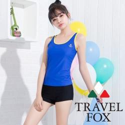 夏之戀TRAVEL FOX 熱賣款長版兩件式泳衣
