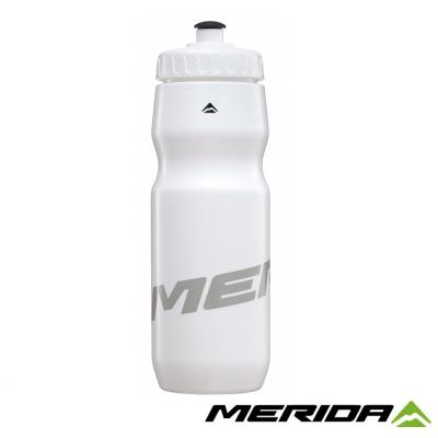《MERIDA》美利達 臺灣製-自行車水壺 800cc 白/灰 2123003240
