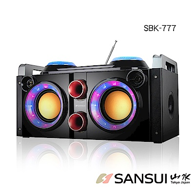 【SANSUI 山水】福利品-藍牙KTV可攜式音響 卡拉OK(SBK777)