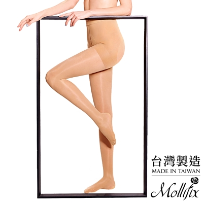 Mollifix-踮腳尖日常微壓美腿襪-膚