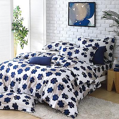 Cozy inn 點子 雙人四件組 200織精梳棉兩用被床包組