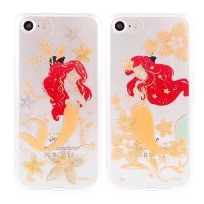 Disney 迪士尼iPhone 7金蒔繪雙料保護殼-艾利兒系列
