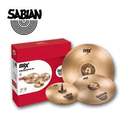 Sabian B8X Performance 45003X 銅鈸套組