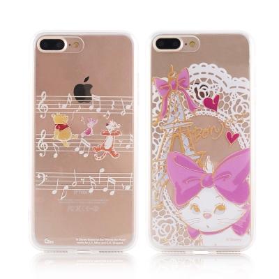 Disney迪士尼iPhone 7 Plus金蒔繪5.5雙料彩繪保護殼