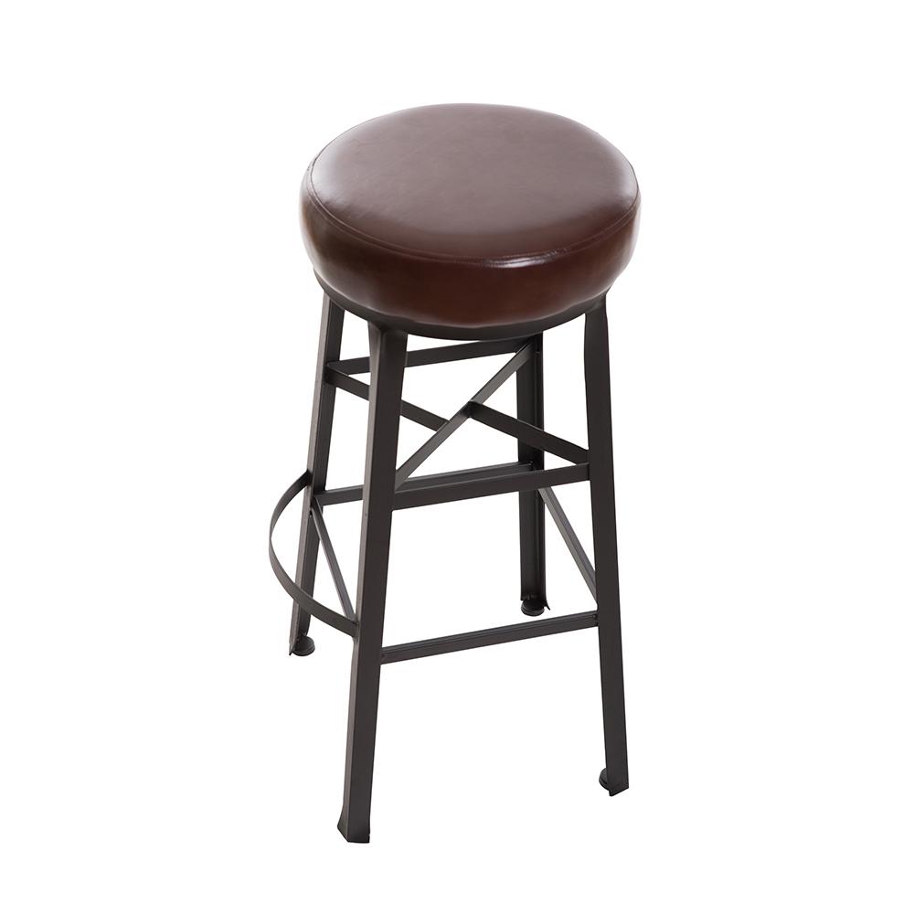 微量元素-手感工業風美式吧台椅-寬39x深35.5x高79cm