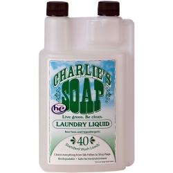 查理肥皂Charlie s Soap 洗衣精40次 0.95L/瓶 (共2瓶)