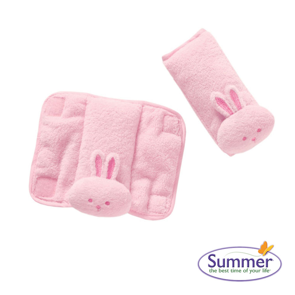 美國品牌 Summer Infant 寶寶肩頸保護墊 - 粉紅色