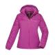 【ATUNAS 歐都納】女款防水透氣/輕量蓄熱保暖防風外套A-G1745W紫紅 product thumbnail 1