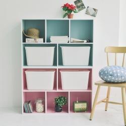 Home Feeling 五格書櫃-60x30x90cm-DIY