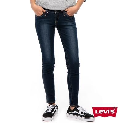 Levis 女款 Revel 低腰緊身提臀牛仔長褲 高彈力塑型布料