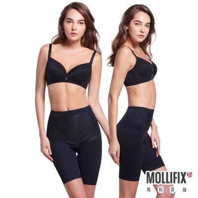 Mollifix 超自我 蜜腿SHAPE五分褲 2件組