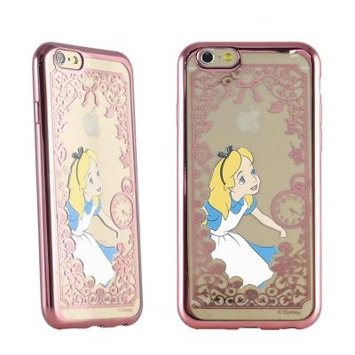 Disney迪士尼iPhone 6/6S(4.7)電鍍彩繪保護套-公主系列