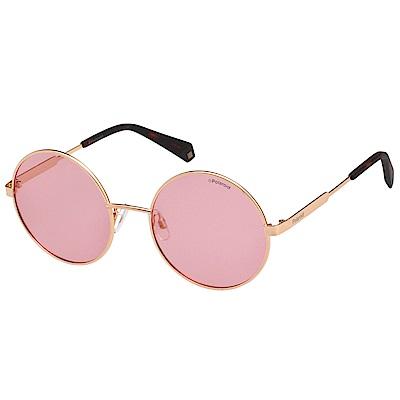 Polaroid 寶麗萊 偏光太陽眼鏡 (金色)PLD-4052S @ Y!購物