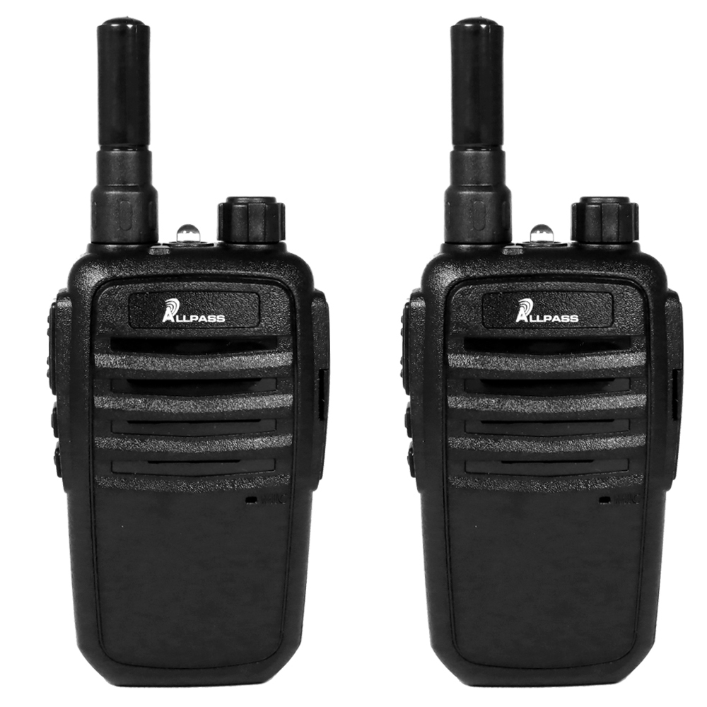 ALLPASS Z9 免執照 UHF 無線電對講機【2入組+專業空導耳機】