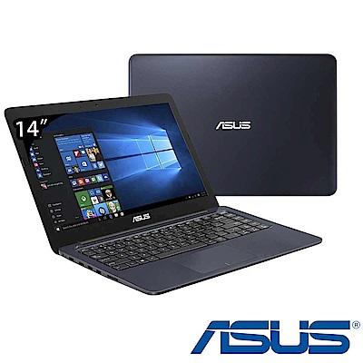 ASUS L402 14吋四核筆電(N3450/1T/4G/藍/特仕版