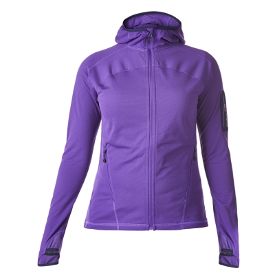【Berghaus 貝豪斯】女款輕量彈性保暖外套H22F22-紫