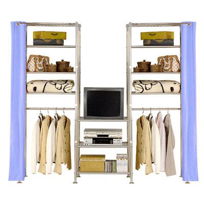 巴塞隆納-W4型60+60+60cm置物/收納衣櫥架