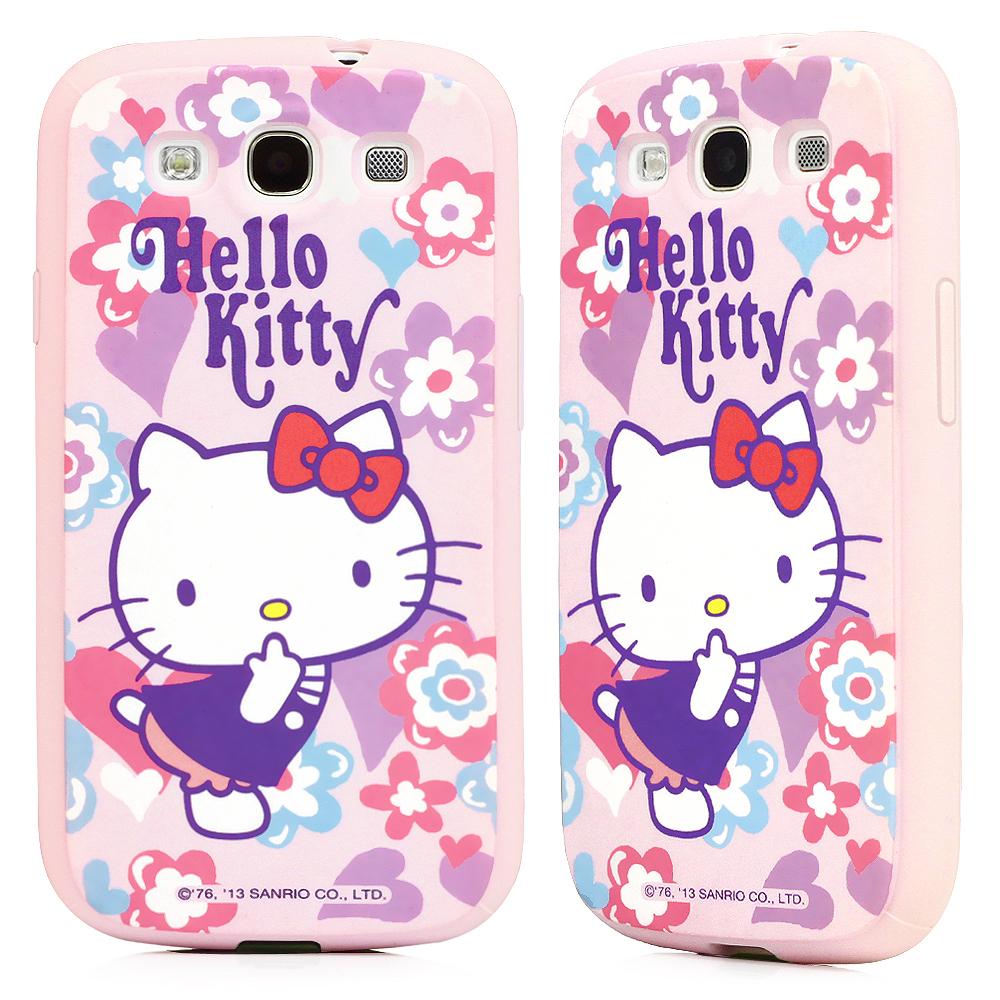 GOMO Hello Kitty Samsung S3 TPU軟殼-1TC2