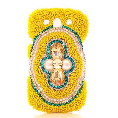 AimeeToff Samsung S3/I9300珠彩熱情水鑽保護殼