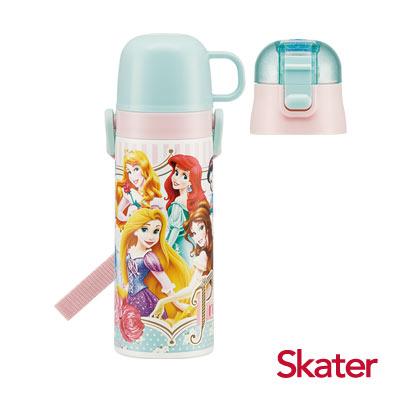 Skater不鏽鋼保溫水壺(2WAY)迪士尼公主Lady