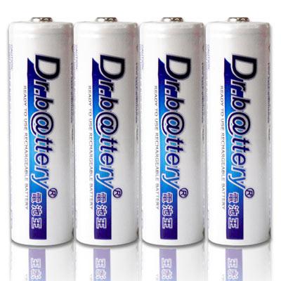 電池王 3號低自放電2200mAh充電電池(4入)