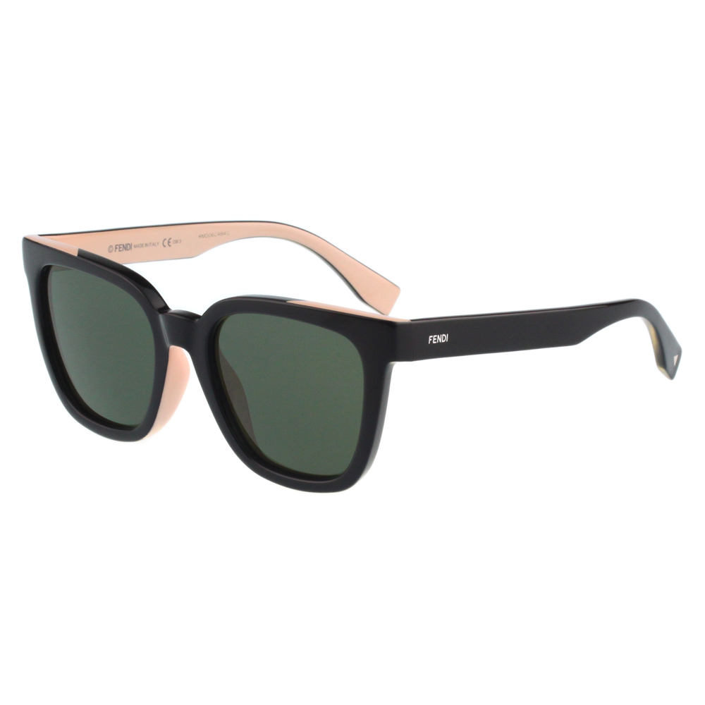 FENDI-時尚太陽眼鏡(黑配粉色) @ Y!購物