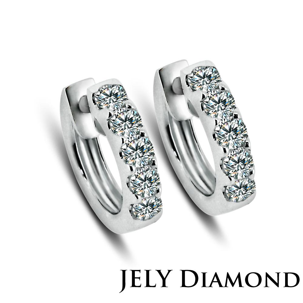 JELY TWINS 天然鑽石耳環