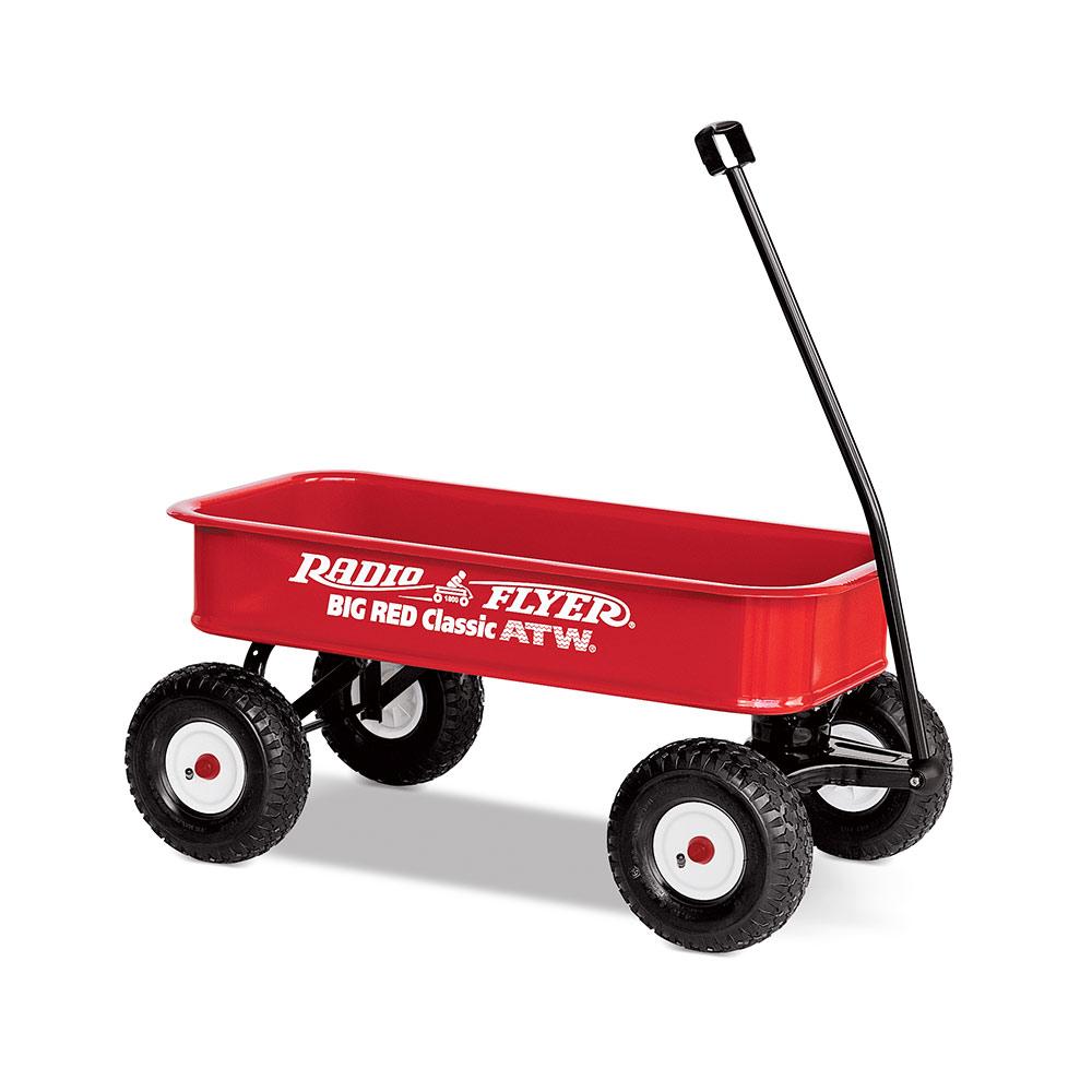 RadioFlyer 拓荒者復刻全地形拖車#1800型