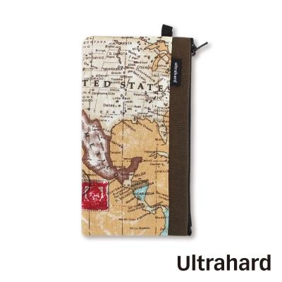 Ultrahard 手機袋- World Map 世界地圖系列(大地咖)