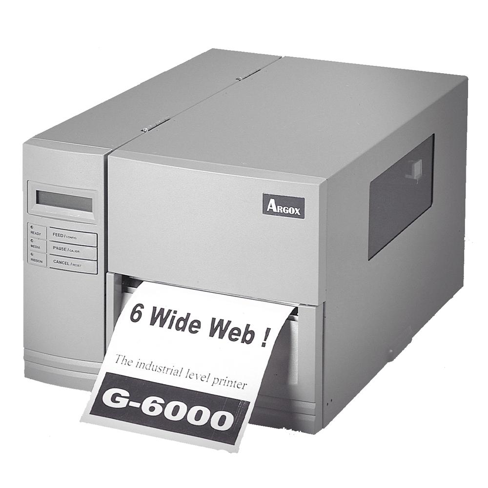 Argox G-6000 熱感式&熱轉式工業型條碼機