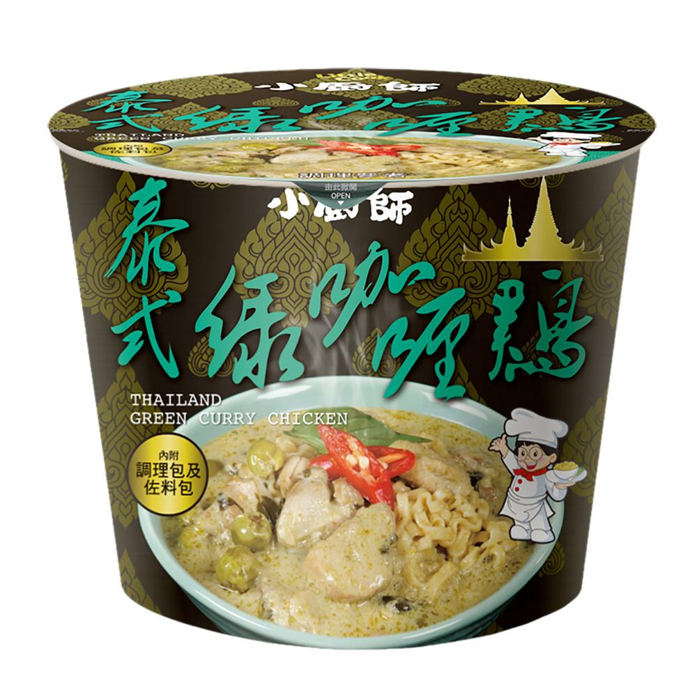 (活動)小廚師 泰式綠咖哩雞慢食麵(200g)