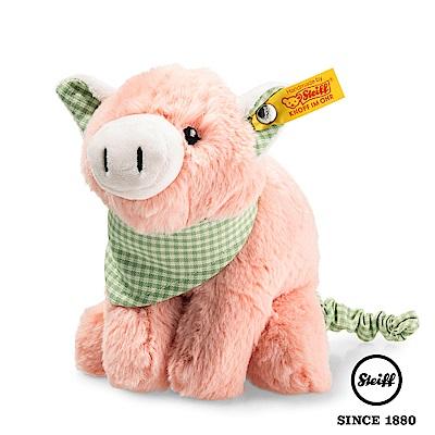 STEIFF德國金耳釦泰迪熊 - 震動 小豬 Pig(嬰幼兒玩偶)