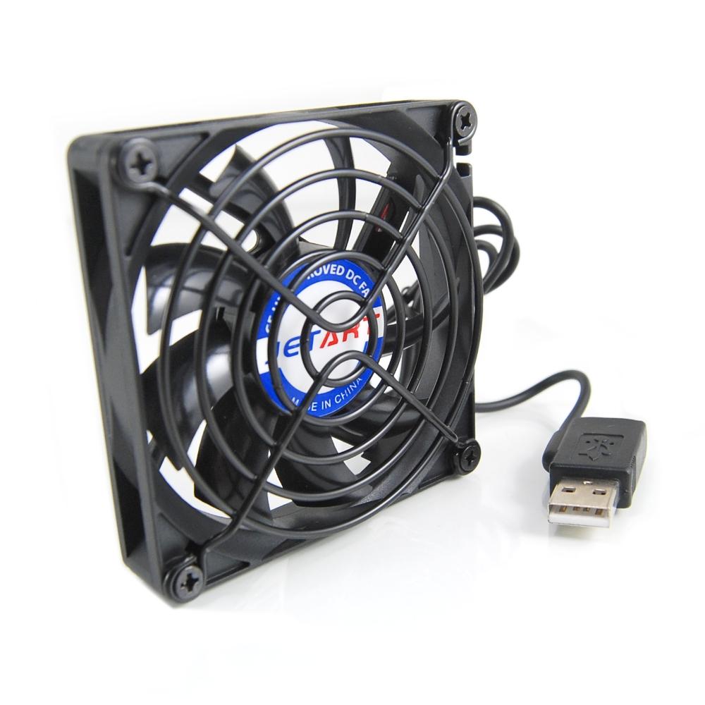 JetArt 捷藝 外接式 USB供電 液態軸承 8cm 靜音風扇 (DF8015UB)