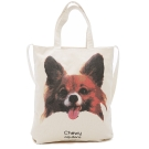 Kitson 蝴蝶犬Chewy圖案帆布包