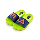 FILA KIDS 中童MD運動拖鞋-綠藍2-S431S-636