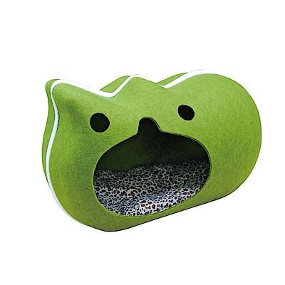 MDOBI摩多比-貓丸家 犬貓用 拉鍊毛氈窩(慵懶貓款)