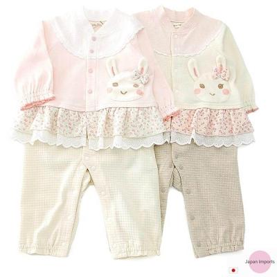 Japan Imports 可愛小兔假兩件長袖連身裝